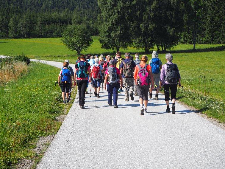 Jubiläumspilgern am Marienpilgerweg III